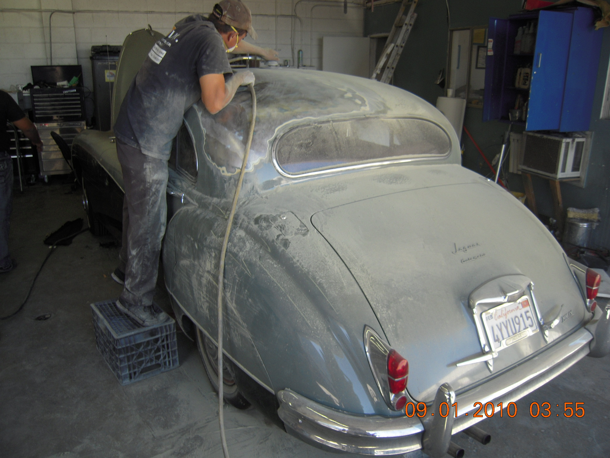 Auto body surface preparation for paint west coast body for Body paint auto