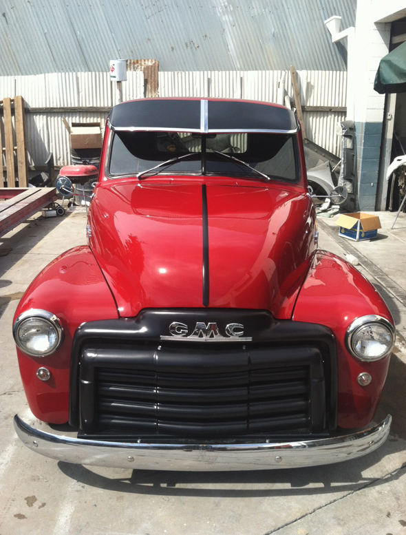 west coast body and paint old gmc truck 11 west coast body and paint auto body shop. Black Bedroom Furniture Sets. Home Design Ideas