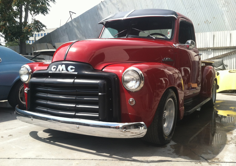 west coast body and paint old gmc truck 12 west coast body and paint auto body shop. Black Bedroom Furniture Sets. Home Design Ideas