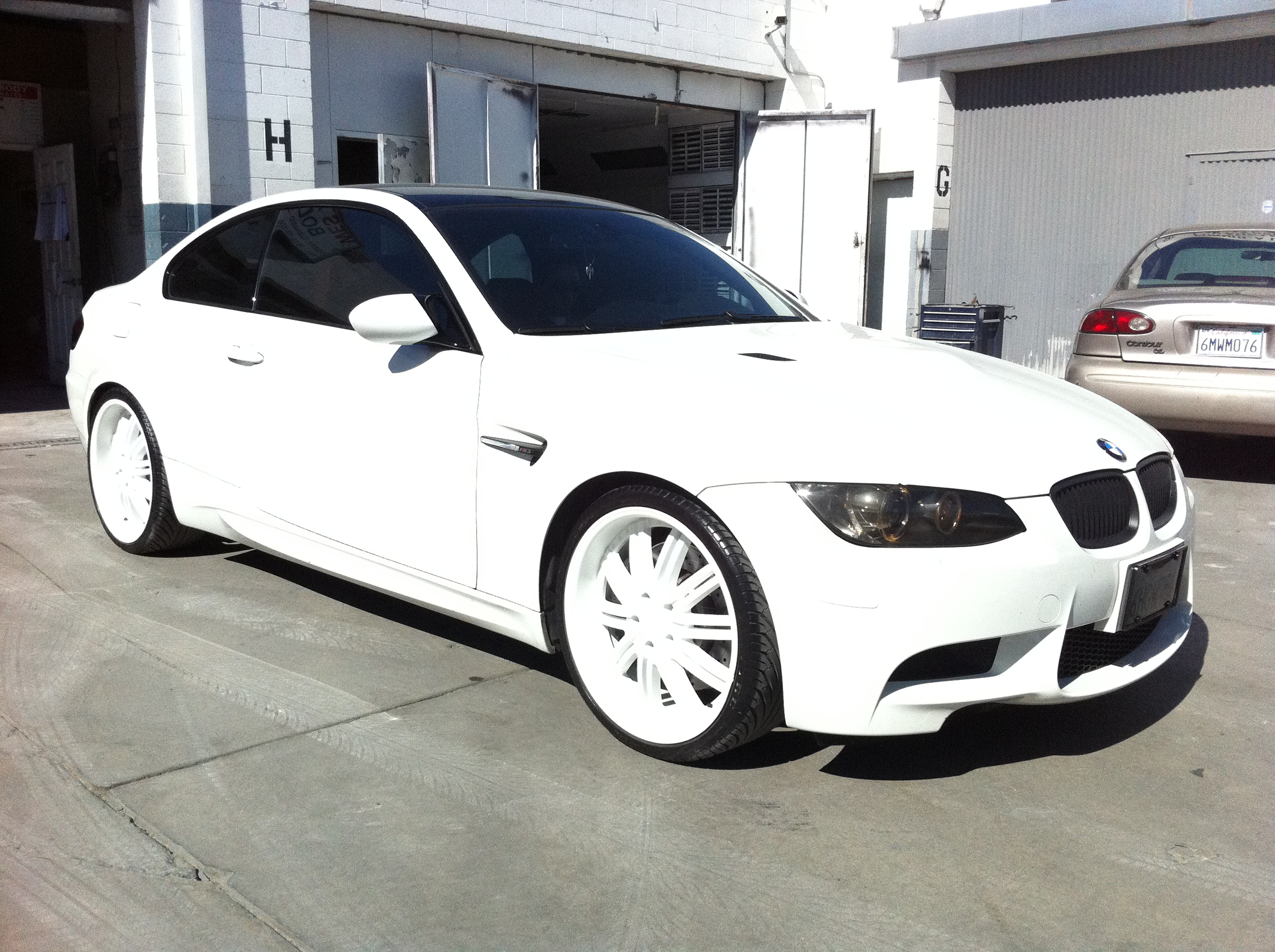 Bmw m3 custom paint west coast body and paint auto for Car paint shop