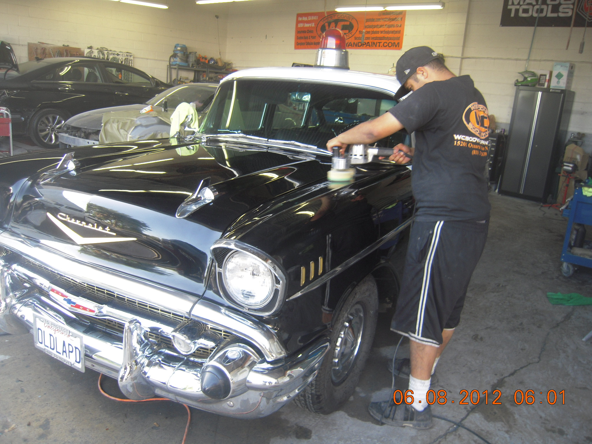 Classic Car Accident Repair Before And After